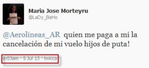 Twitter puteadas 3